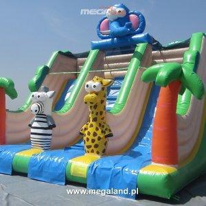 Zjeżdżalnia Safari-dmuchanylac zabaw-zamek dmuchany-04